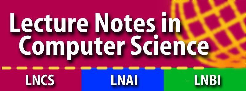 LNCS [Springer]